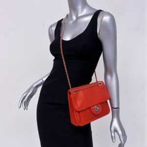 Chanel Up in the Air Small Flap Bag Red